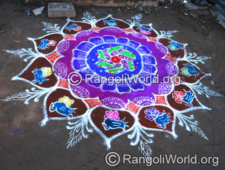Bird rangoli aug2014