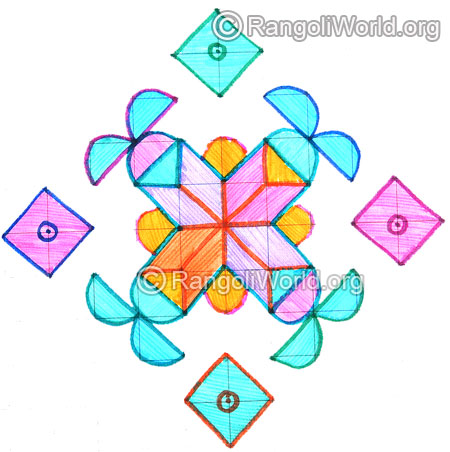 Diamond pooja kolam april24 2015