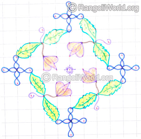 Small lotus kolam may8 2015