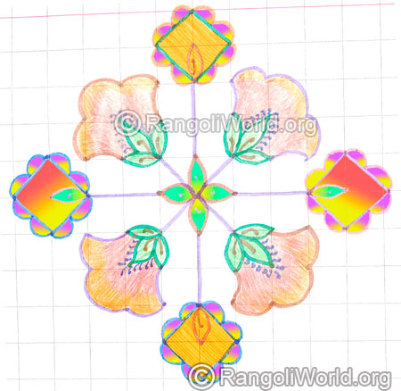 Small poo kolam may8 2015