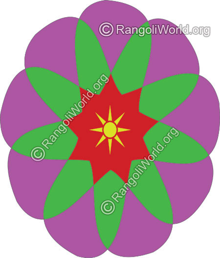 Sun star daily rangoli jan13