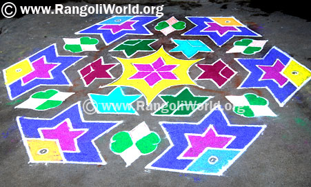 Star Fish Kolam