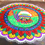 Pongal festival rangoli designs collection