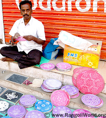 rangoli instrument making