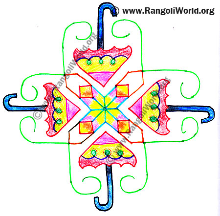 Umbrella Kolam