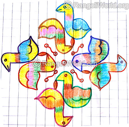 Duck kolam jan 2015