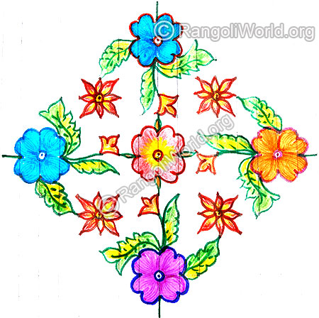 Flower kolam jan 1 2015