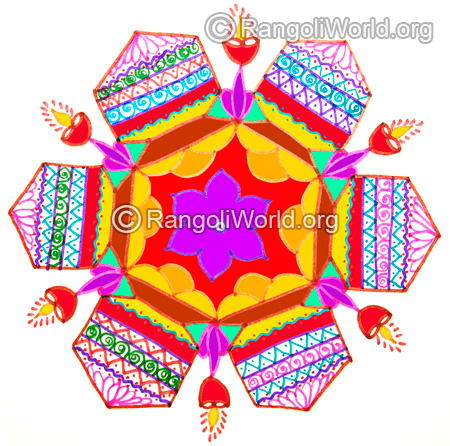 Happy pongal 2016 kolam