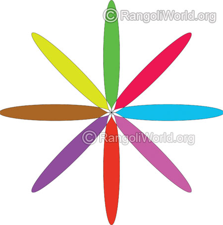 simple flower rangoli for kids jan10