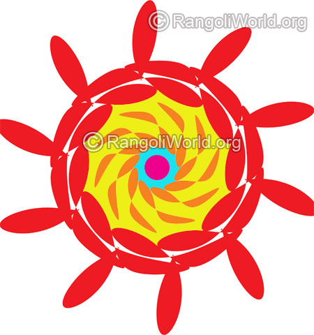 simple rangoli for beginners 1 jan10