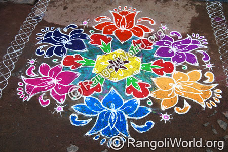 Lotus Collectio Rangoli