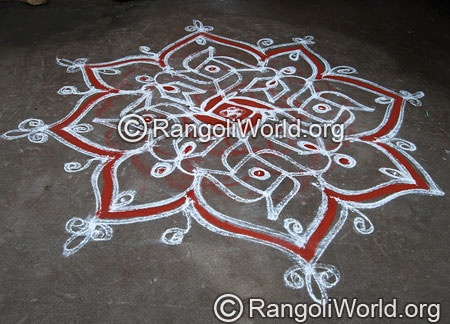 Single Stroke Rangoli